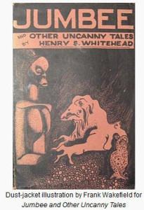 JUMBEE AND OTHER UNCANNY - COVER